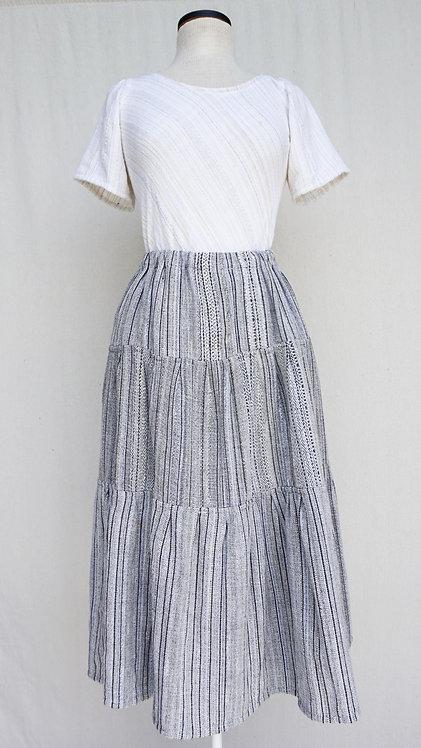 Aspen Bark | Three Tiered Skirt