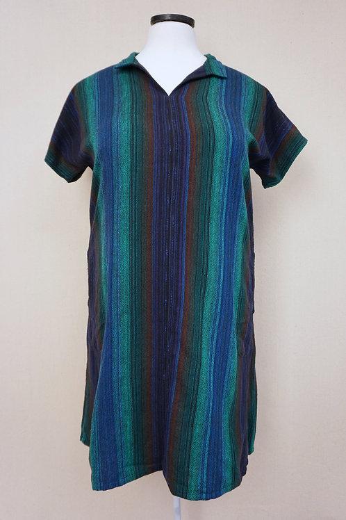 Black Peacock | Collared Dress