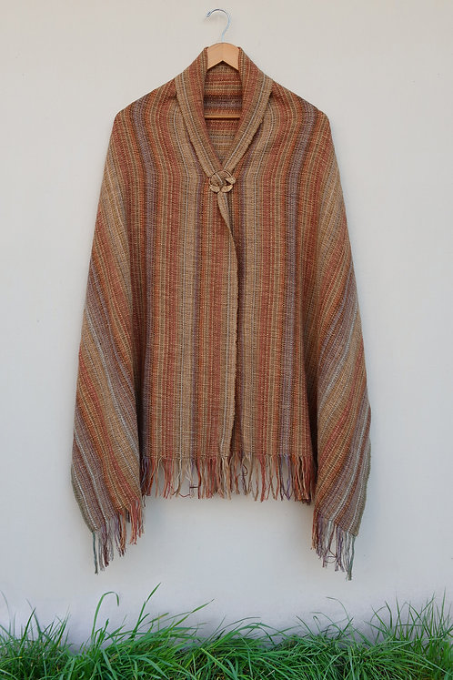 Gold Stone Rectangle Shawl