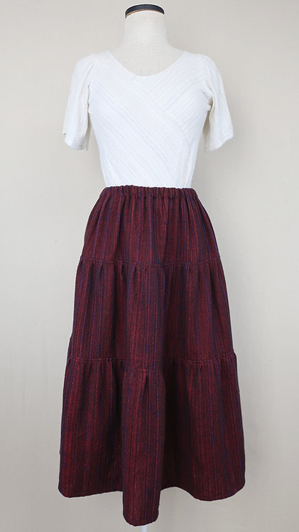 Scarlet Tanager | Three Tiered Skirt