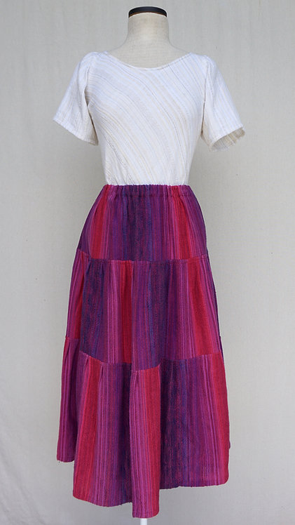 Hot Berries Three Tiered Skirt