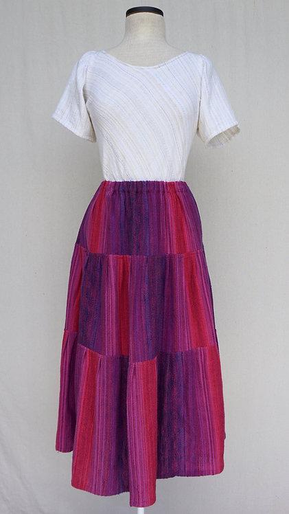 Hot Berries | Three Tiered Skirt