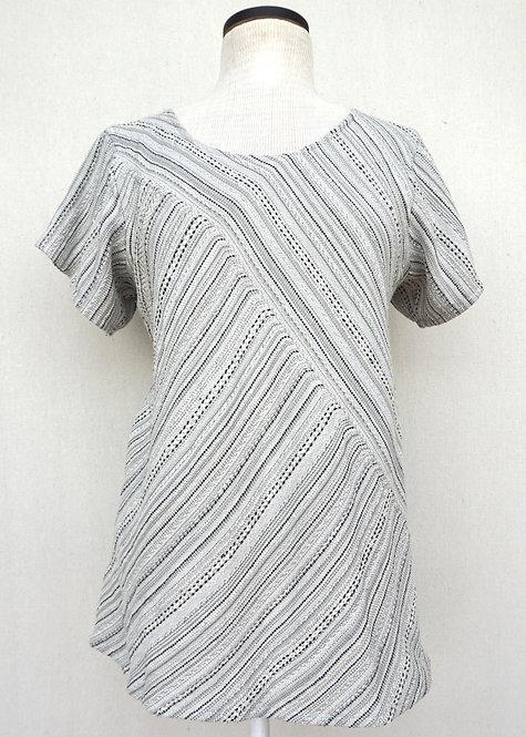 Aspen Dove   Bias Cut Shirt