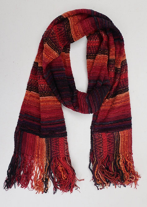 Flame and Ember   Scarf