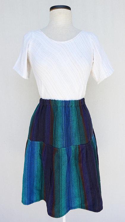Black Peacock | Short Skirt