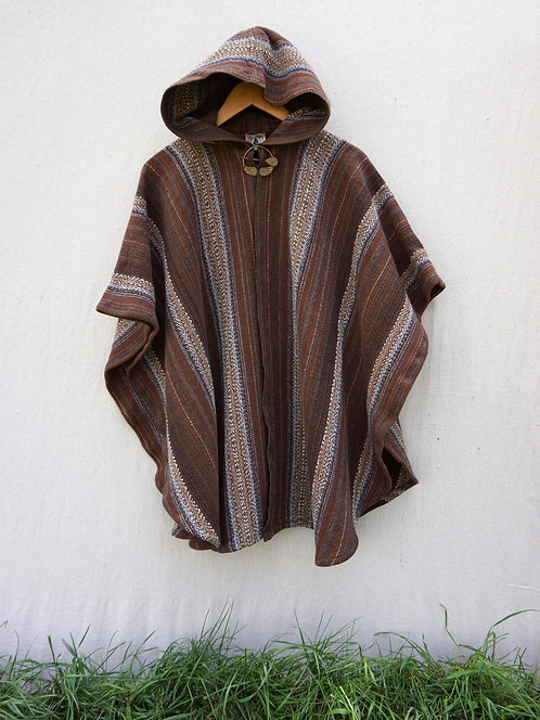 Brown Agate | Mini Ruana