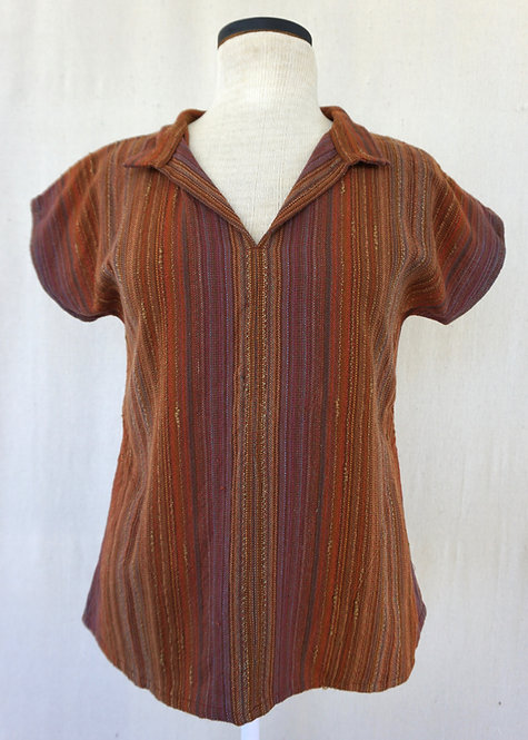 Sedona Canyon Collared Shirt with Pockets