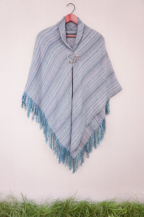 Cloudy Morning | Square Shawl