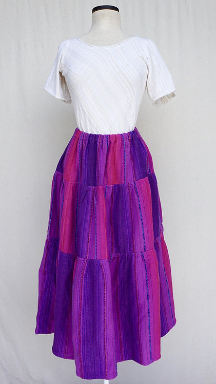 Purple Passion | Three Tiered Skirt