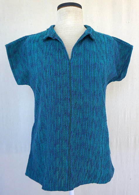 Ocean Flash Collared Shirt with Pockets