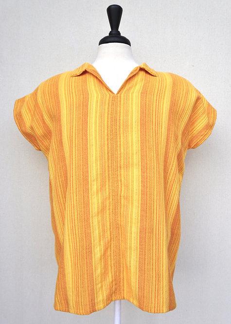 Yellow Sunflower | Collared Shirt