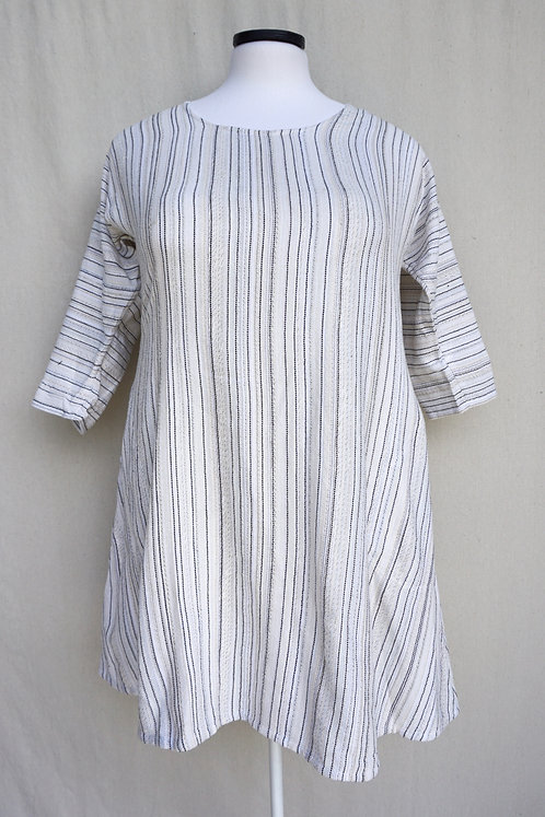 Swan Tunic, Scoop Neck