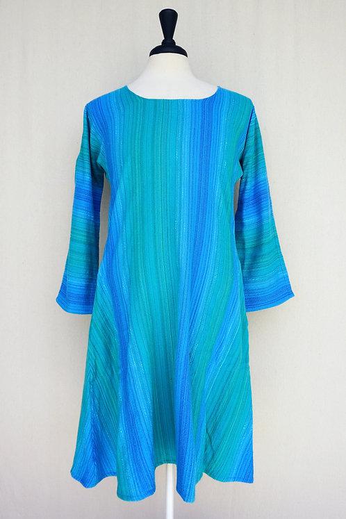 Turquoise Delight | Tunic, Scoop Neck