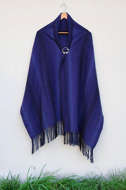 Purple Magic Hour Rectangle Shawl