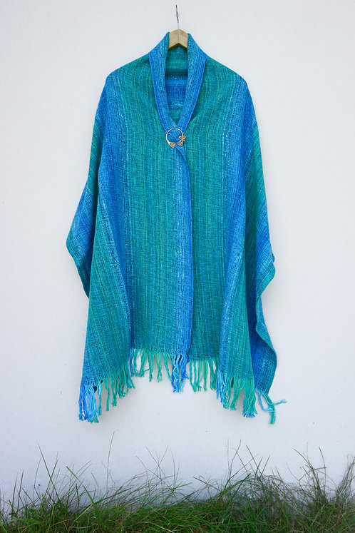 Turquoise Delight Rectangle Shawl