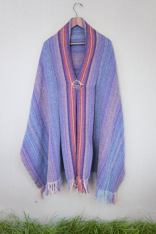 Dawn Sunburst | Rectangle Shawl