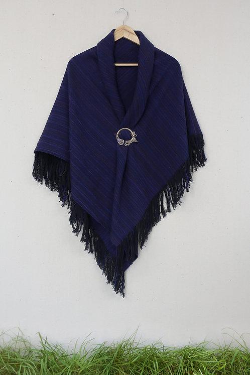 Purple Martin | Square Shawl