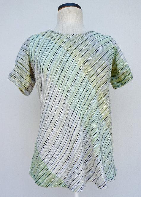 Counted Aspen Bias Cut Shirt
