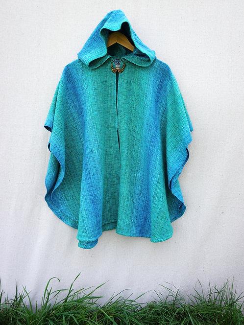 Turquoise Delight Mini Ruana