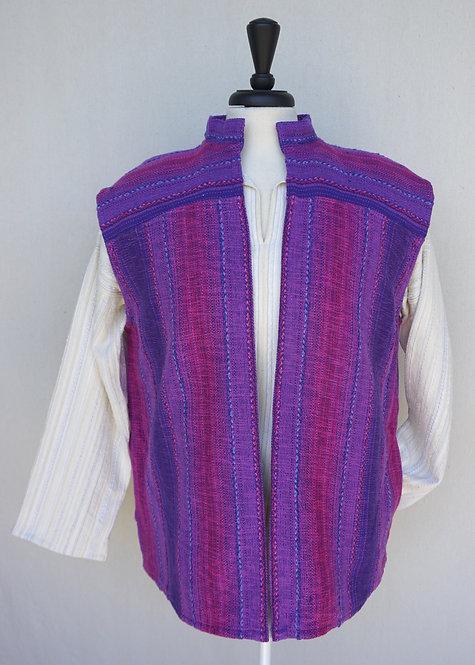 Purple Passion Collared Vest