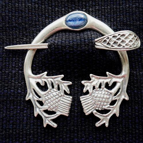 Thistle Brooch, Kyanite