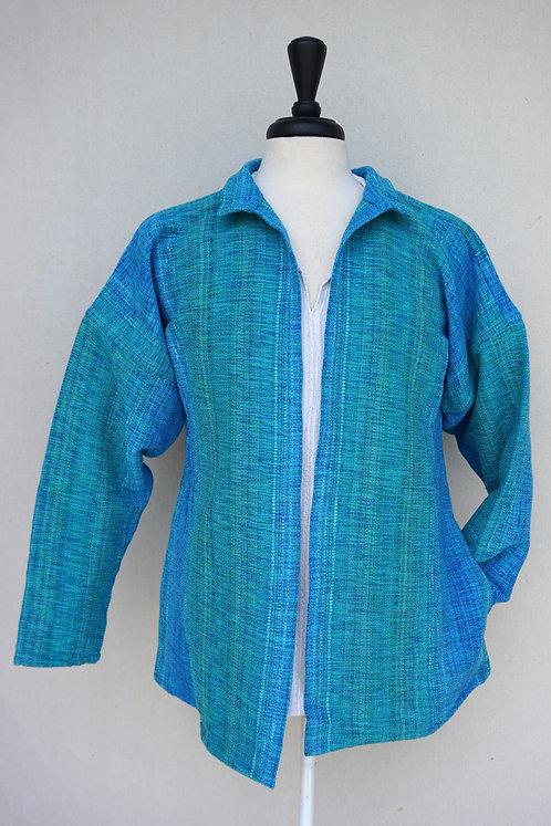Turquoise Delight | Short Coat
