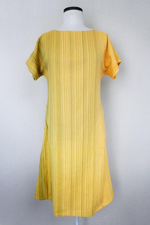 Sunflower | Boat Neck Dress