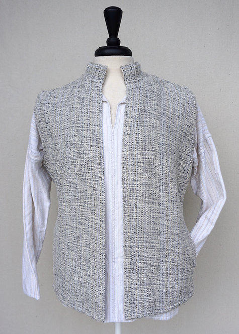 Oxford Collared Vest