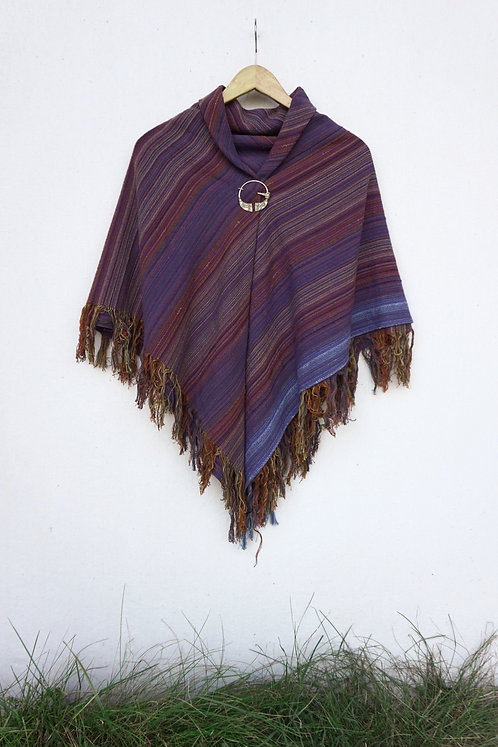 Purple Canyon | Square Shawl