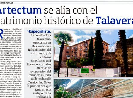 Artectum se alía con el Patrimonio Histórico de Talavera