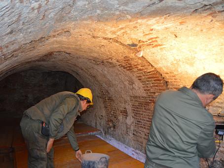 Bóvedas Romanas en Toledo. Resumen de prensa de la actuación en Restauración