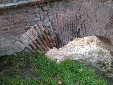 Restauración del acueducto Sabatini en la Casa de Campo de Madrid