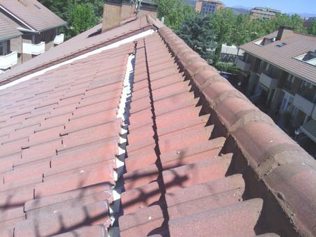 Arreglo y rehabilitación de cubiertas en vivienda particular