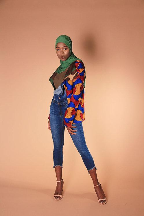 Afro-Camo Blazer
