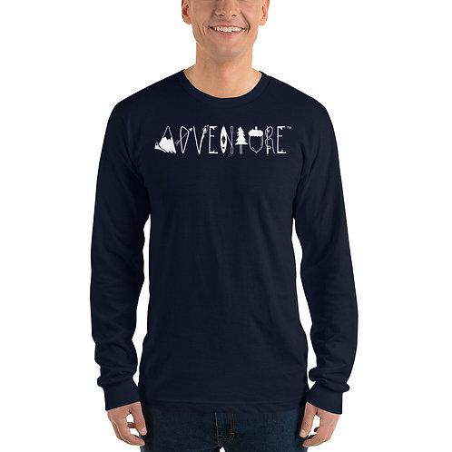 Long sleeve ADVENTURE t-shirt