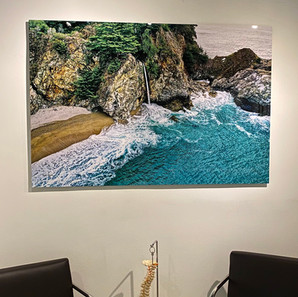 McWay Falls Metal Photo