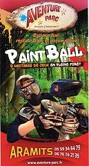 Paint ball à Aramits