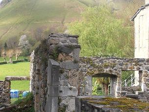 mur et entrée du jardin