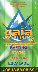 Gaia à Bidos,kayak, escalade