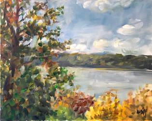 "20"" x 16"", oil on canvas"