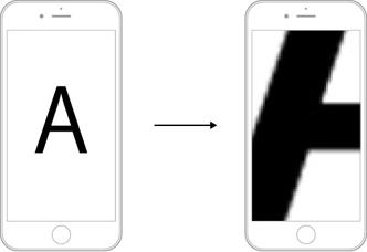 iPhoneによる顕微鏡撮影をサポート_i-NTER LENS専用アプリ[i-NTER SHOT]_ピント拡大