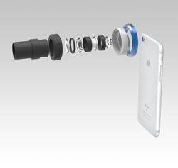 顕微鏡用iPhone取り付けアダプターinterlens_2