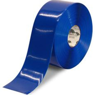 "3""x100 Mighty Line Blue Floor Tape"