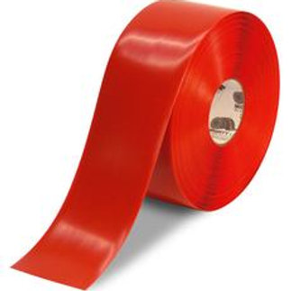 """3""""x100 Mighty Line Red Floor Tape"""