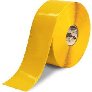 "3""x100 Mighty Line Yellow Floor Tape"