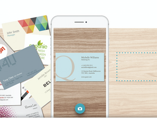 Tip #1 - How To Catch Up On Your Business Card Backlog