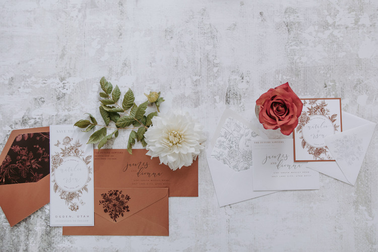 coordinating save the dates