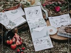 treehouse love invitations