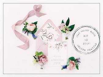 Lavender Romantic Stationery