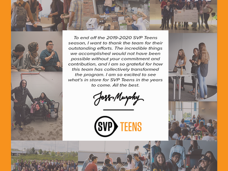 Thank you for an amazing 2019-2020 Year!